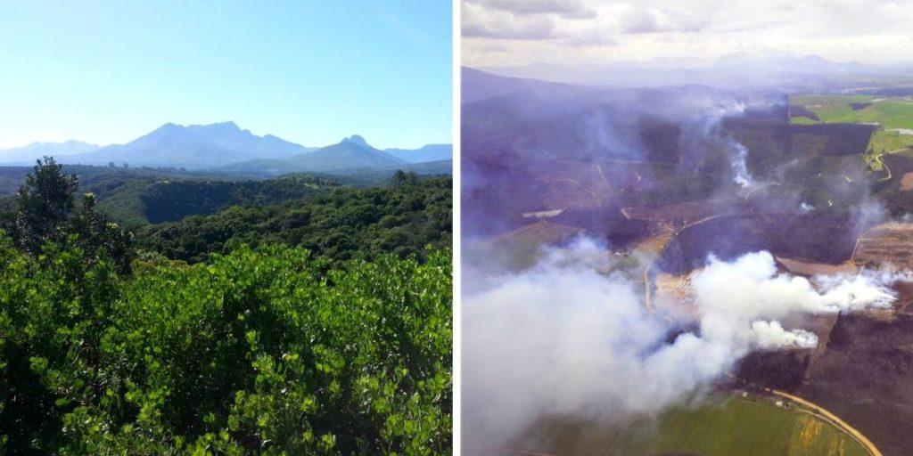 Garden Route challenges - garden route fires 2018