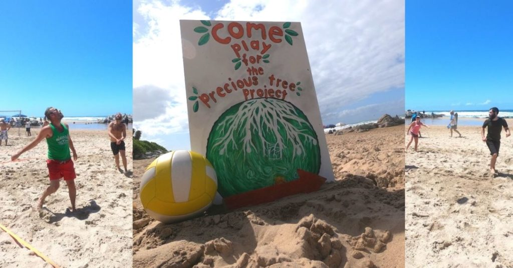 Playing for Trees - thriVe Beach Volleyball Challenge December 2019 Fundraising Event - Precious Tree Project NPO- Precious Tree Project NPO