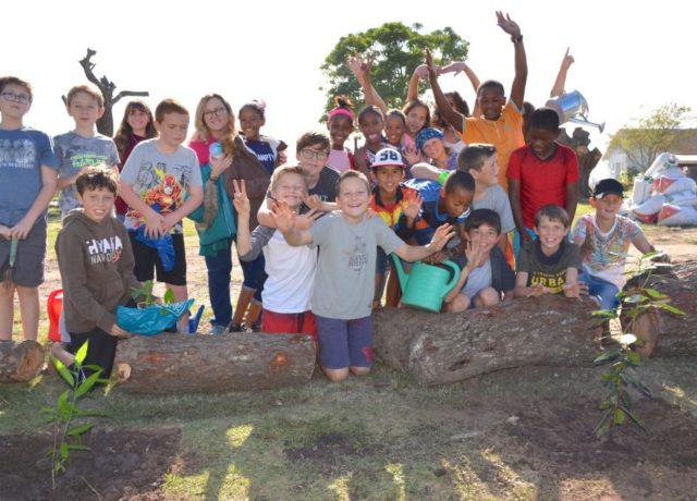 School Educational Workshops and Tree Planting Programme - Hoekwil Primary School - Precious Tree Project